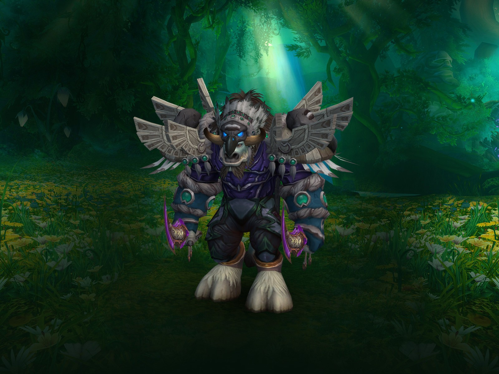 Buy Level 110 Tauren Druid Mythic Geared For Lvl 110
