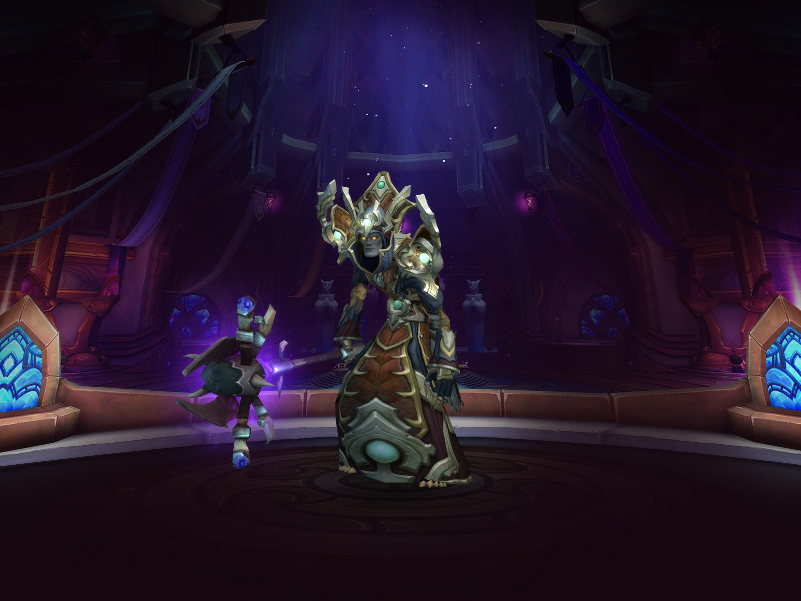 Buy Level 110 Undead Priest Mop Gold Priest Transmog And