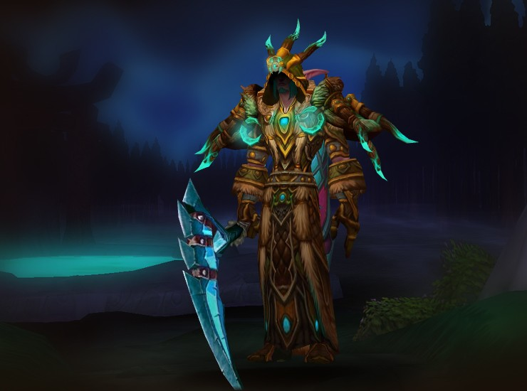 Lvl 59 twink death knight gear